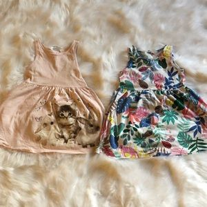 H&M Toddler Girl dresses size 1 1/2-2 years